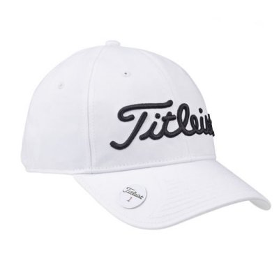 cabcb381f86 Titleist Ball Marker Adjustable Cap 2016 White