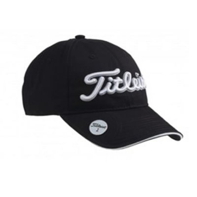 83e3c9da166 Titleist Ball Marker Adjustable Cap 2016 Black