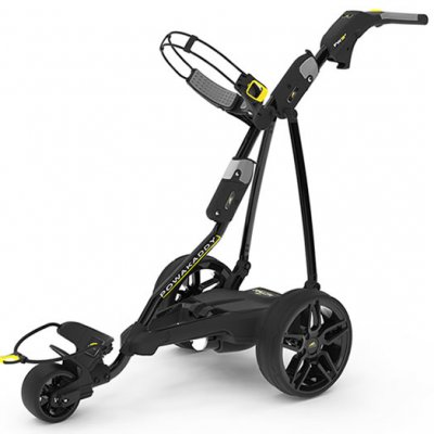 Powakaddy FW3S Electric Trolley 2019 Black FREE BAG