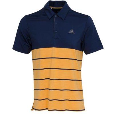 9e6380aa adidas Ultimate 365 Heather Block Polo Shirt 2018 D96147 Navy/Orange