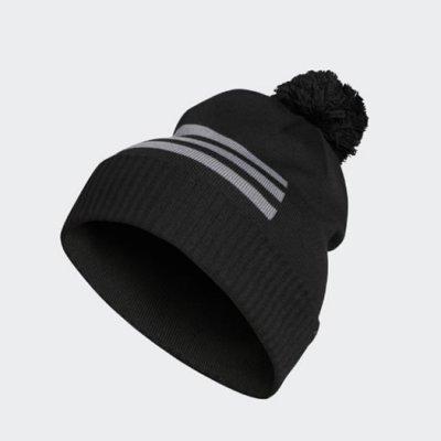 a61ce66bb14 adidas 3 Stripe Beanie Hat 2018 DN2216 Black