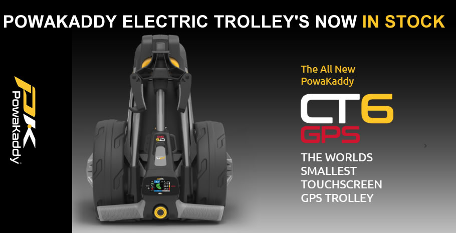 Powakaddy CT6 GPS Electric Trolley Banner