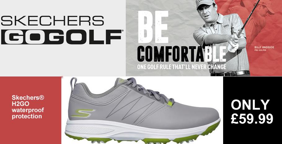 Skechers Go Golf Shoes Banner