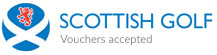 Scottish Golf Union Vouchers Accepted