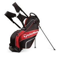 TaylorMade 4.0 Stand Bag Black/Red