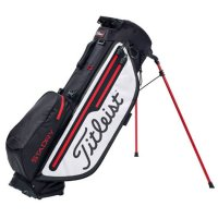 Titleist Players 4 Plus Stadry Stand Bag 2019 TB9SX3 016 Black/White/Red