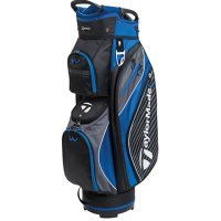 TaylorMade Pro 6.0 Cart Bag 2018 Black/Charcoal/Blue FREE GIFT
