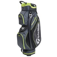 TaylorMade Pro 6.0 Cart Bag 2018 Black/Charcoal/Green FREE GIFT