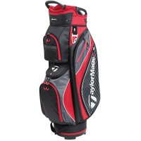 TaylorMade Pro 6.0 Cart Bag 2018 Black/Charcoal/Red FREE GIFT