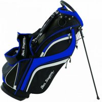 Ben Sayers DLX Stand Bag 2020 Black/Blue
