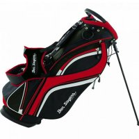 Ben Sayers DLX Stand Bag 2020 Black/Red