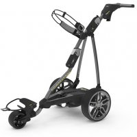 Powakaddy FW7S Electric Trolley 2019 Titanium with carbon effect FREE BAG DEAL