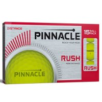 Pinnacle Rush Golf Balls 2018 15 Ball Pack Yellow