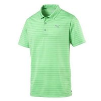Puma Rotation Stripe Polo Shirt 2019 578790 08 Irish Green