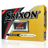 Srixon Z Star Golf Balls - White