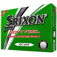 Srixon Soft Feel Overstamp Golf Balls 1 Dozen