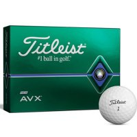 Titleist AVX Golf Ball 2020 White