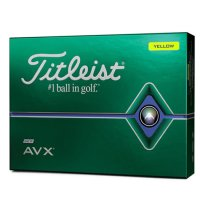 Titleist AVX Golf Ball 2020 Yellow