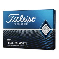 Titleist Tour Soft Golf Balls 2020 white