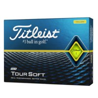 Titleist Tour Soft Golf Balls 2020 Yellow