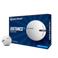 TaylorMade Distance Plus Golf Balls 2021 White