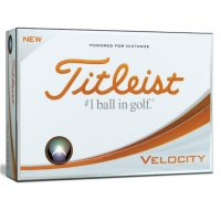 Titleist Velocity Personalised 2018 Golf Ball  FREE PERSONALISATION