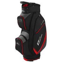 Powakaddy X Lite Cart Bag 2020 Black/Titanium/Red