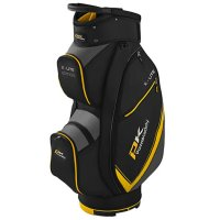 Powakaddy X Lite Cart Bag 2020 Black/Titanium/Yellow