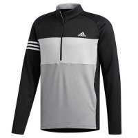 adidas Competition Sweat 1/4 Zip Jumper 2020 DZ8572 Black/Grey