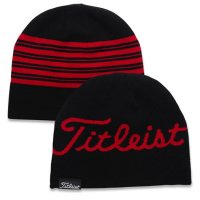 Titleist Lifestyle Reversible Beanie 2020 Black/Red