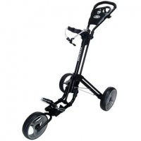 Skymax Qwikfold 3.0 Push Golf Trolley - Black/Charcoal + Free Gift