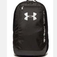 Under Armour Hustle LDWR Backpack 2018 1273274 001 Black