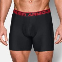 Under Armour O-Series Boxer Shorts Twin pack 2018 1282508 001 Black