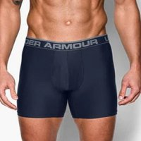 Under Armour O-Series Boxer Shorts Twin pack 2018 1282508 412 Navy