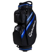 TaylorMade Deluxe Cart Bag 2019 Black/Blue