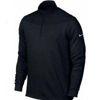 Nike Dri-fit 1/4 Zip Jumper 2016/2017 726574 010 Black