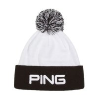 Ping Bobble Hat 2020 White/Black