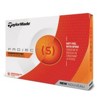 TaylorMade Project S Golf Ball 2018 Orange