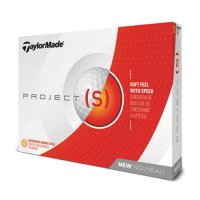 TaylorMade Project S Golf Ball 2018 White