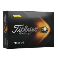 Titleist Pro-V1 Golf Balls 2021 Yellow