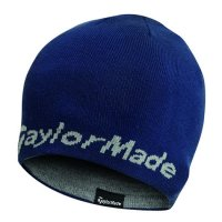 TaylorMade Beanie Hat B1104101 Navy/Grey