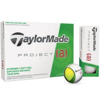 TaylorMade Project A Golf Balls 2017 White