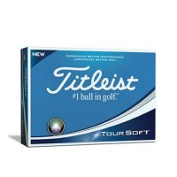 Titleist Tour Soft 2019 Golf Balls White