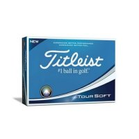 Titleist Tour Soft Personalised Golf Balls 2018 White FREE PERSONALISATION
