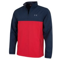 Under Armour Storm 2 Windstrike 1/4 Zip Jacket 2018 1316919 411 Navy/Red