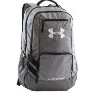 Under Armour Hustle II Backpack 2018 1263964 040 Grey