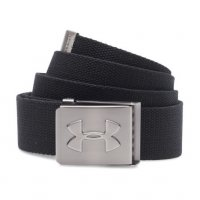 Under Armour Webbing Belt 2017/18 1252132 001 Black