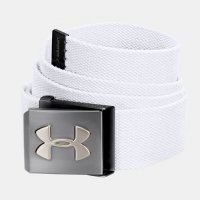 Under Armour Webbing Belt 2017/18 1252132 100 White