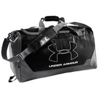 Under Armour Hustle Storm Medium Duffel 1239353-001 Black