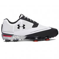 Under Armour Tour Tips Golf Shoes 2017 White & Black